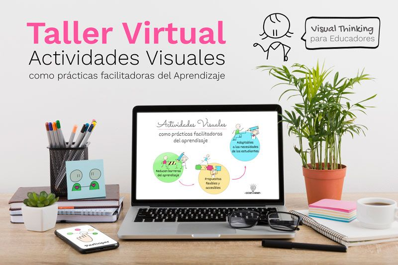 Recurso educativo: Taller Virtual de Actividades Visuales
